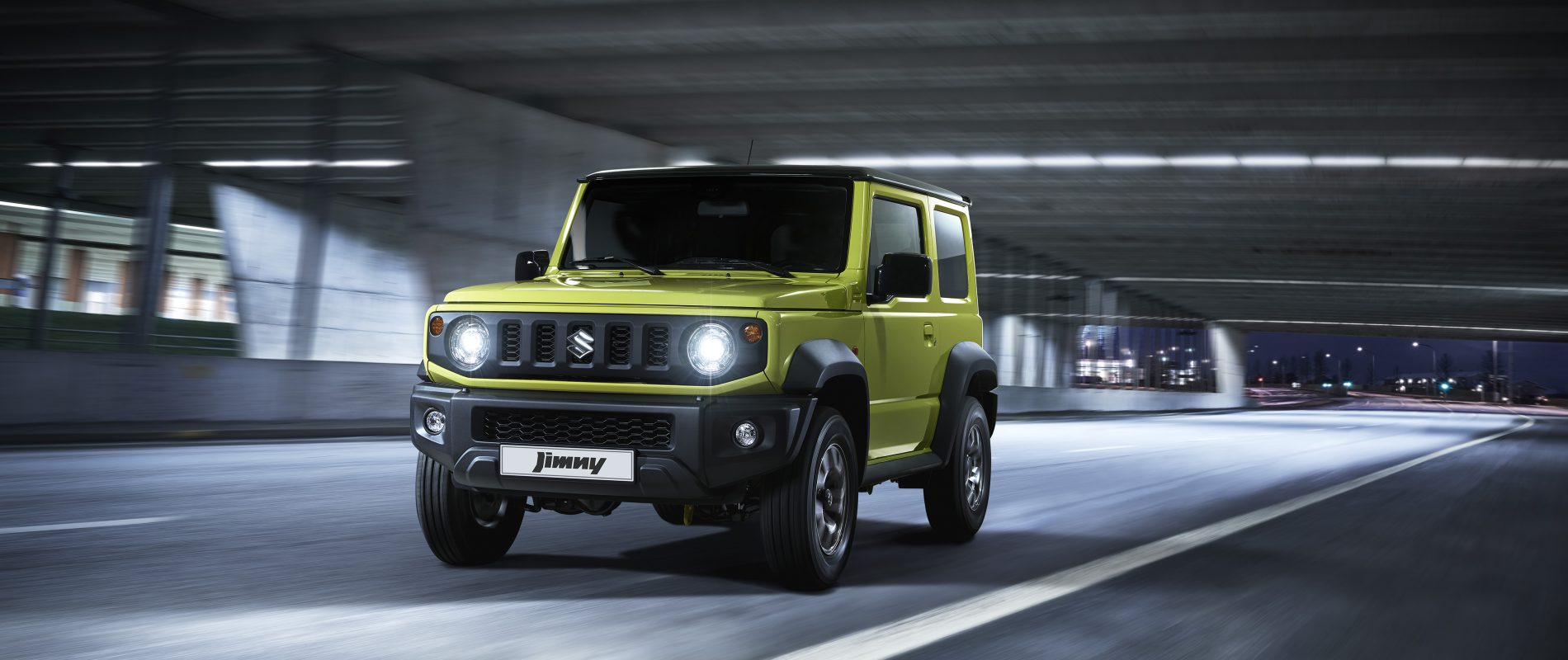 The All New Suzuki Jimny 4x4